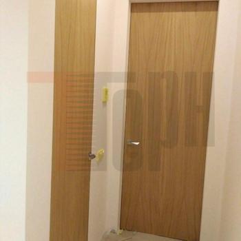 Потайные шпонированные двери